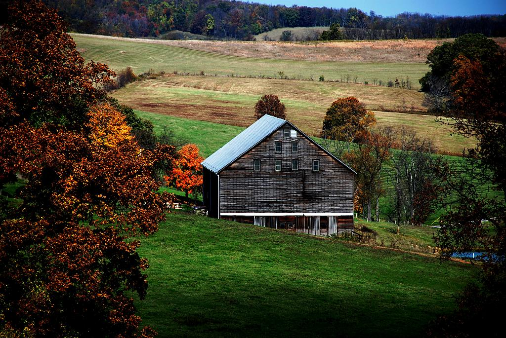 Washington County Pa in the fall by ilvpsu55 in Fall day Washington Conty PA.