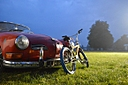 vw karmann and retro bmx by umgum in Member Albums
