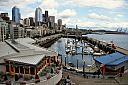 Seattle Waterfront by Nostalgic Memories in Landscapes