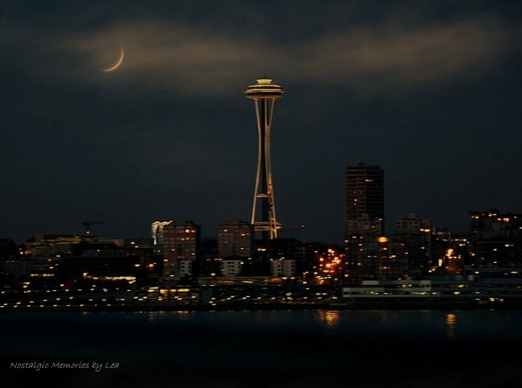 Night Time in Seattle by Nostalgic Memories in Member Albums
