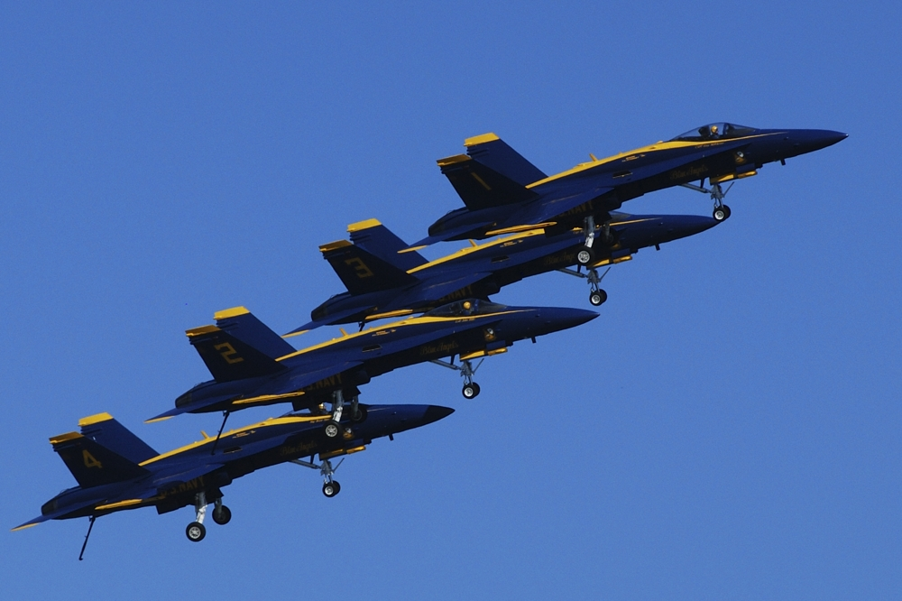 Blue Angles 1 by Jim Maguire in Member Albums