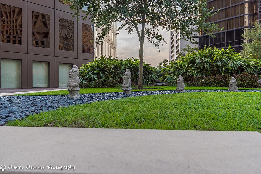 Houston Downtown Gnomes by RocketCowboy in Travel