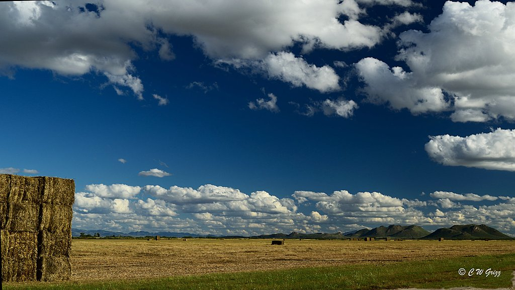 Big Clouds, Big Bales by cwgrizz in Member Albums