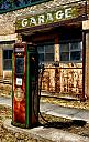 old gas station by Mis Adam in 2013