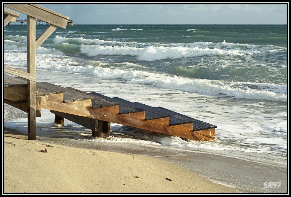 Beach Walkway by Needa in Member Albums
