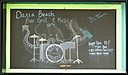 Dania Beach Blackboard Art
