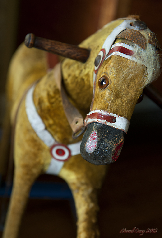 antique rocking horse by Marcel in Member Albums
