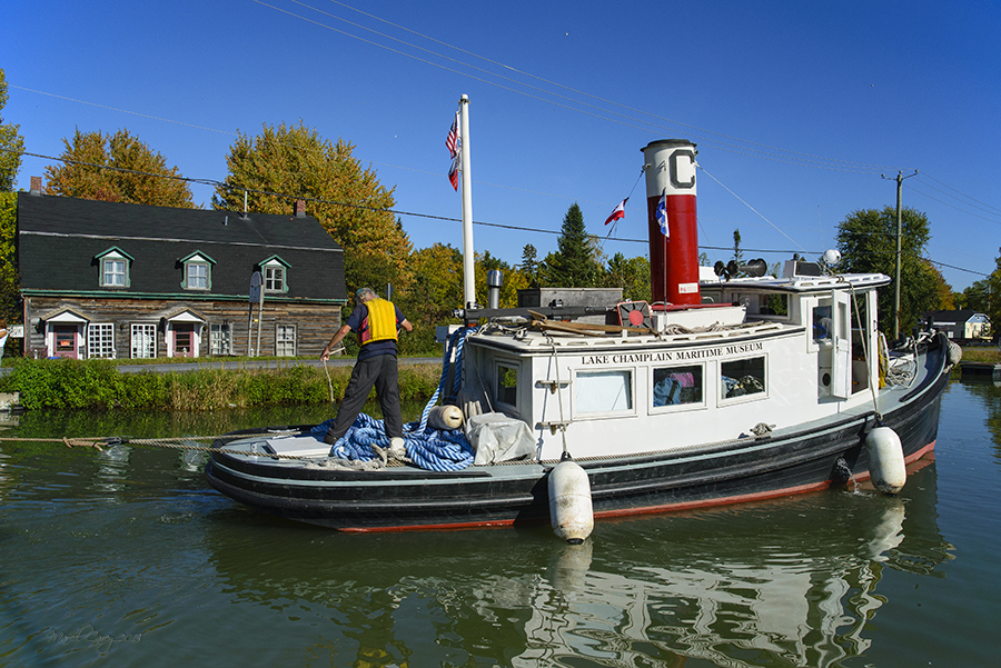 chambly canal tug boat by Marcel in Member Albums