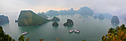 Halong Bay stitched panorama by Marcel in Vietnam 2012
