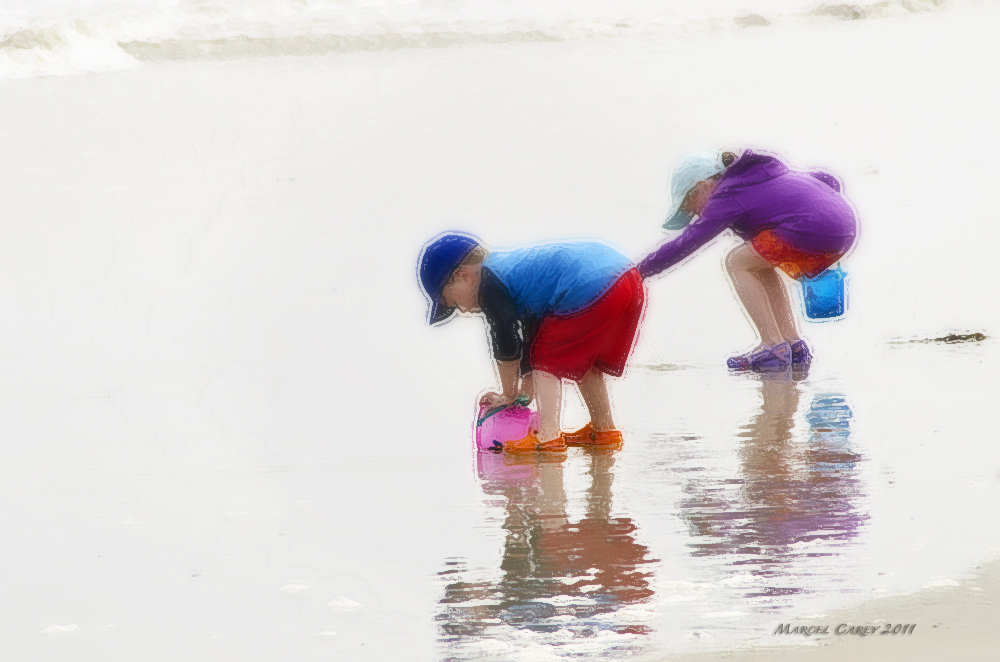 kids on the beach by Marcel in Member Albums