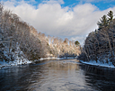 Magog river by Marcel in Member Albums