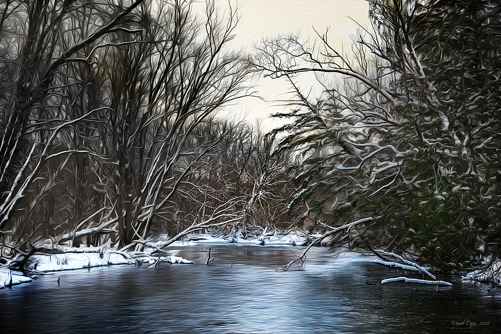 Peaceful river by Marcel in Member Albums