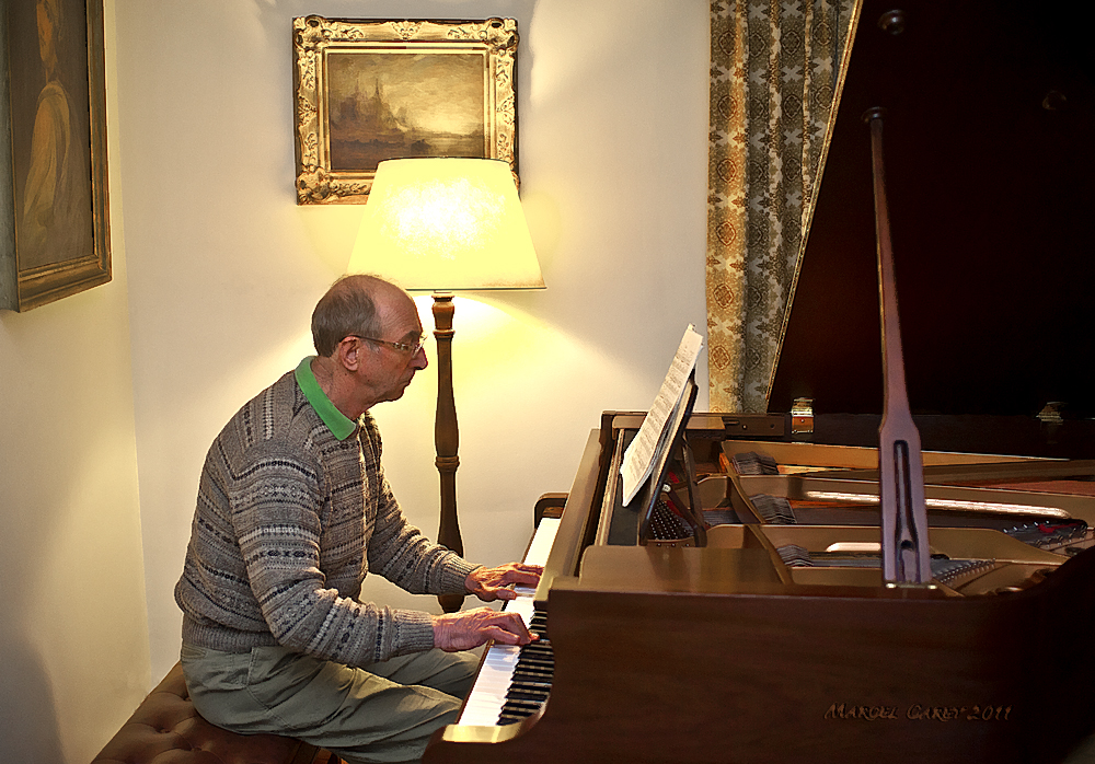 Piano Player by Marcel in Member Albums