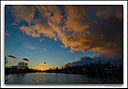 sunset on the magog river by Marcel in Member Albums
