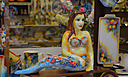 Mermaid in shop Corfu-City-Greece