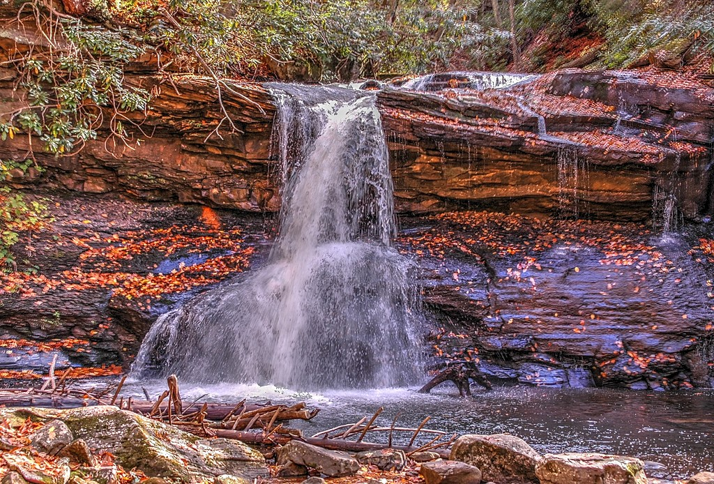 Holly River Falls by adot45 in Member Albums