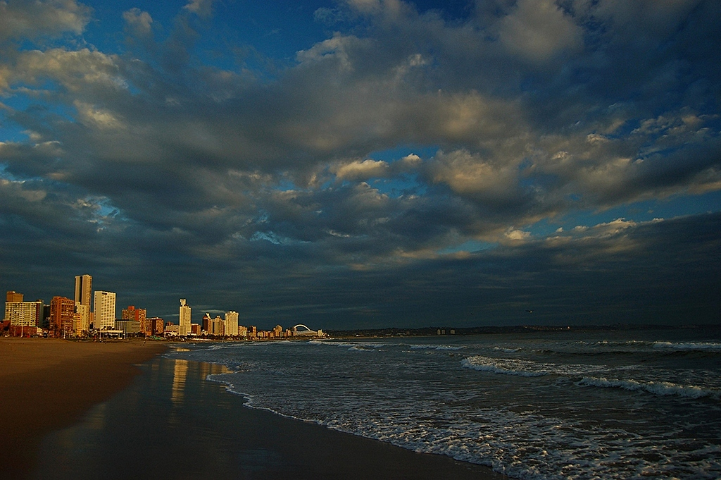 Durban skyline at sunrise by Lee-Ann in Member Albums