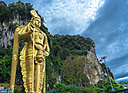 Golden Lord Murugan Statue by Joy R in Member Albums