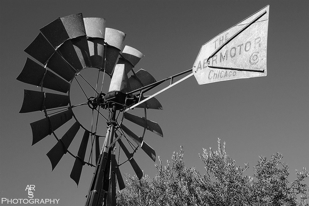 Windmill B&W by Bikerbrent in Member Albums