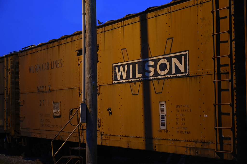 railcar at night by OldSoul in Member Albums