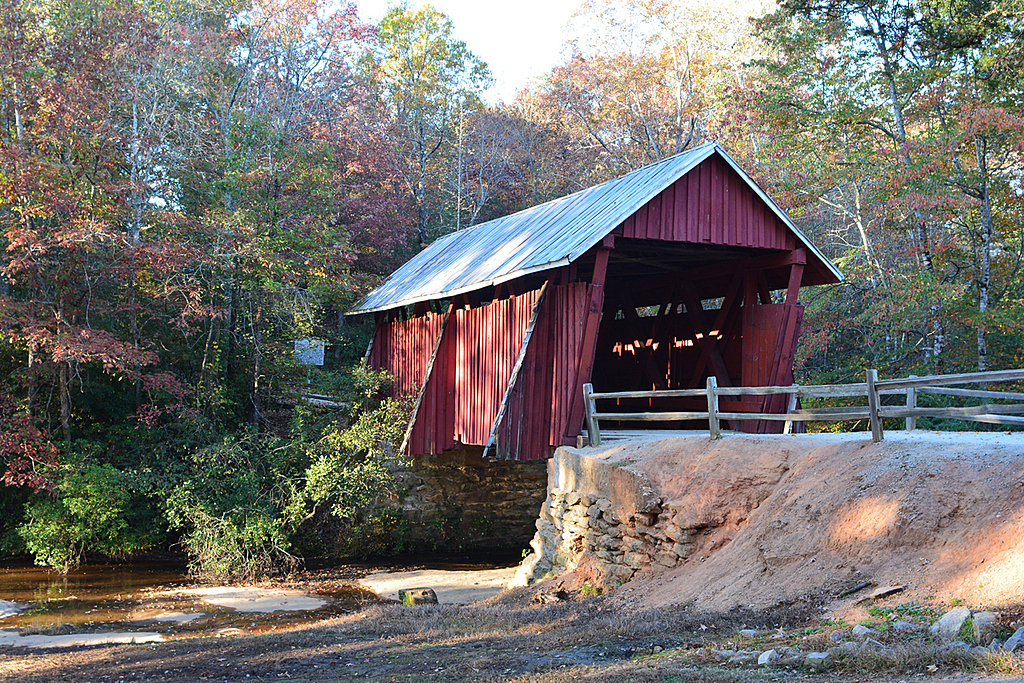 Cambell Covered Bridge by Lindy in Lindy