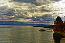 Late afternoon in Nyon, Switzerland by johndapps in Member Albums