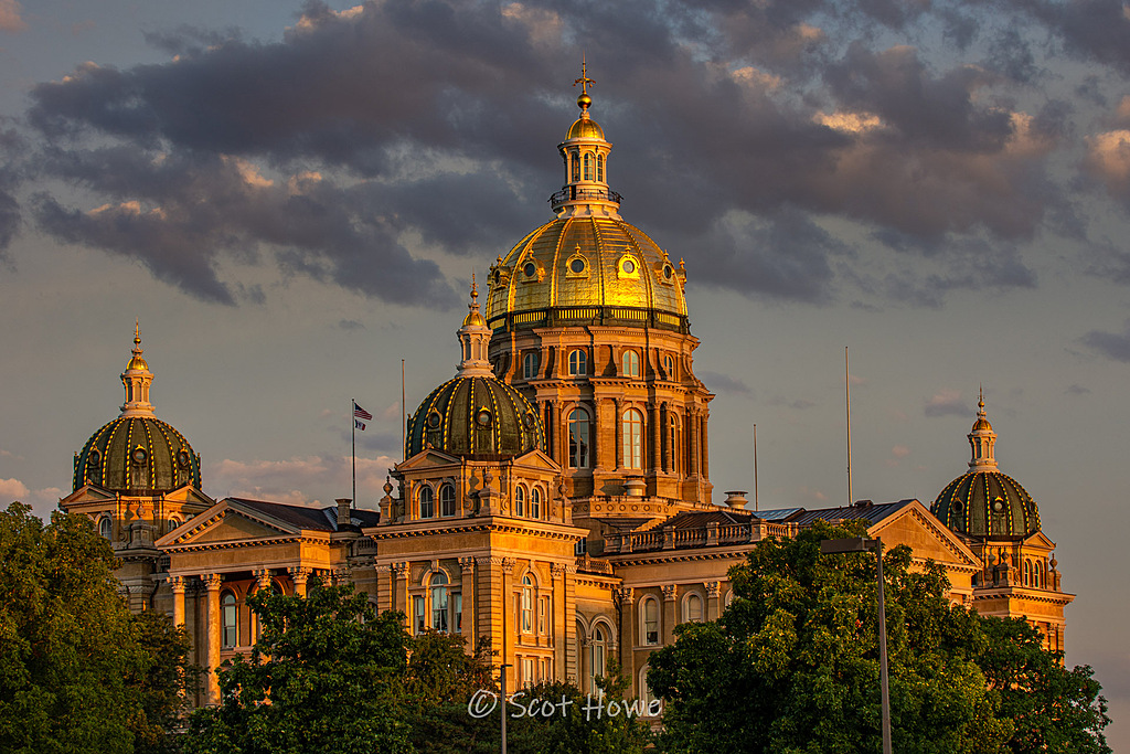 Iowa State Capital by Scot H in Member Albums