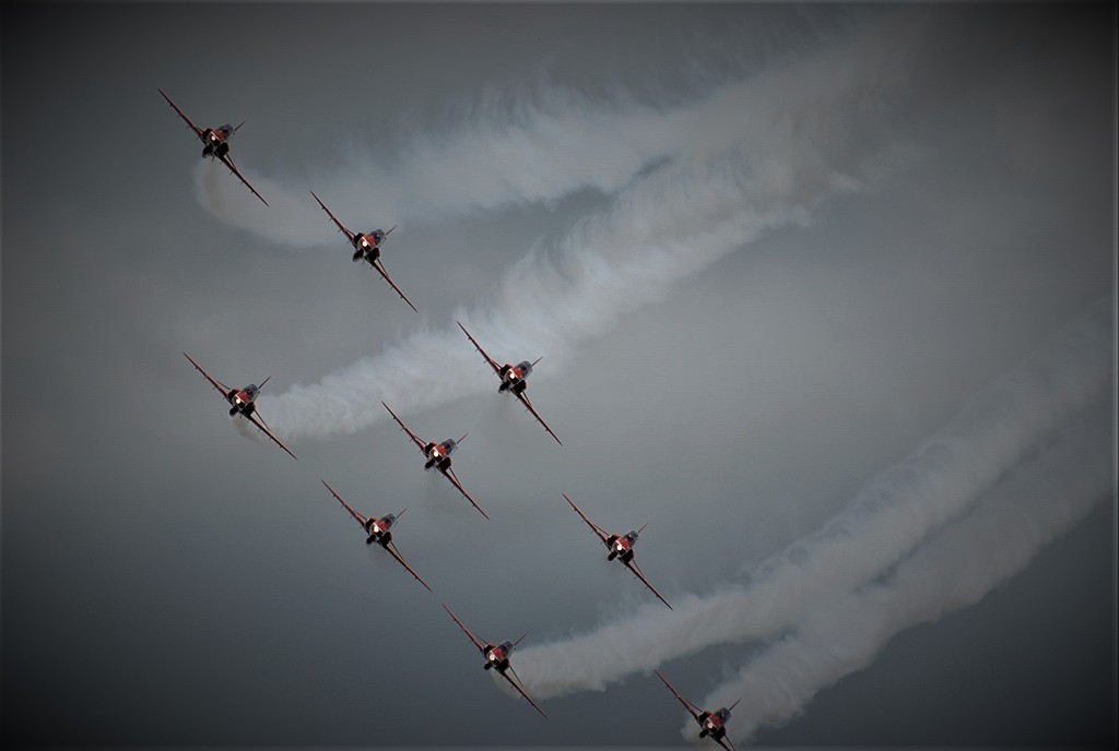 RAF Cosford Air Show Wolverhampton England by BlueThumb in Member Albums