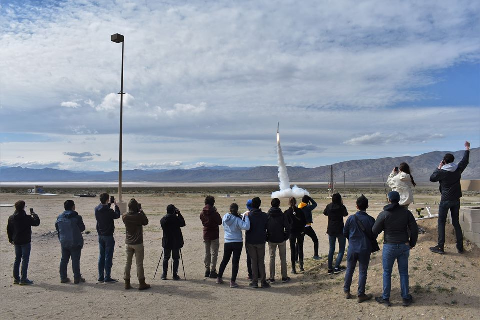 UC Berkeley student launch by Rocket Rick in Rocket tests and launches