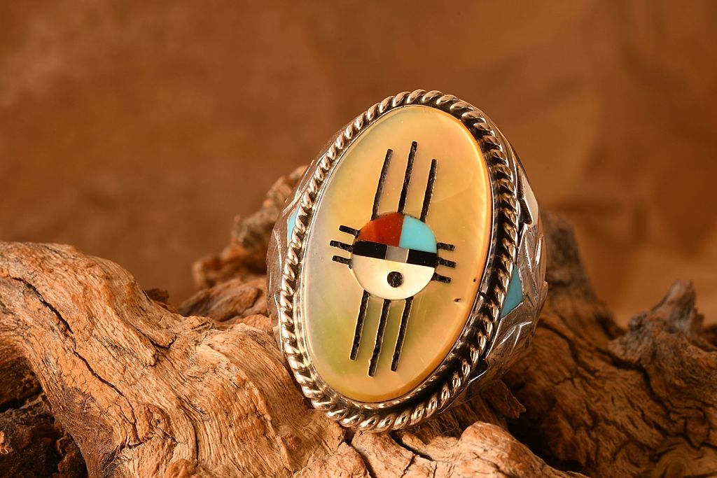 Zuni Inlay Ring by roughman998 in Member Albums