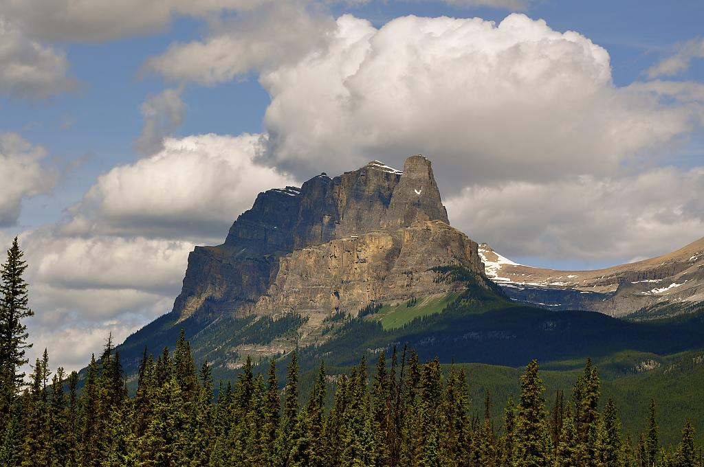 Castle Mountain by Kim20 in Member Albums
