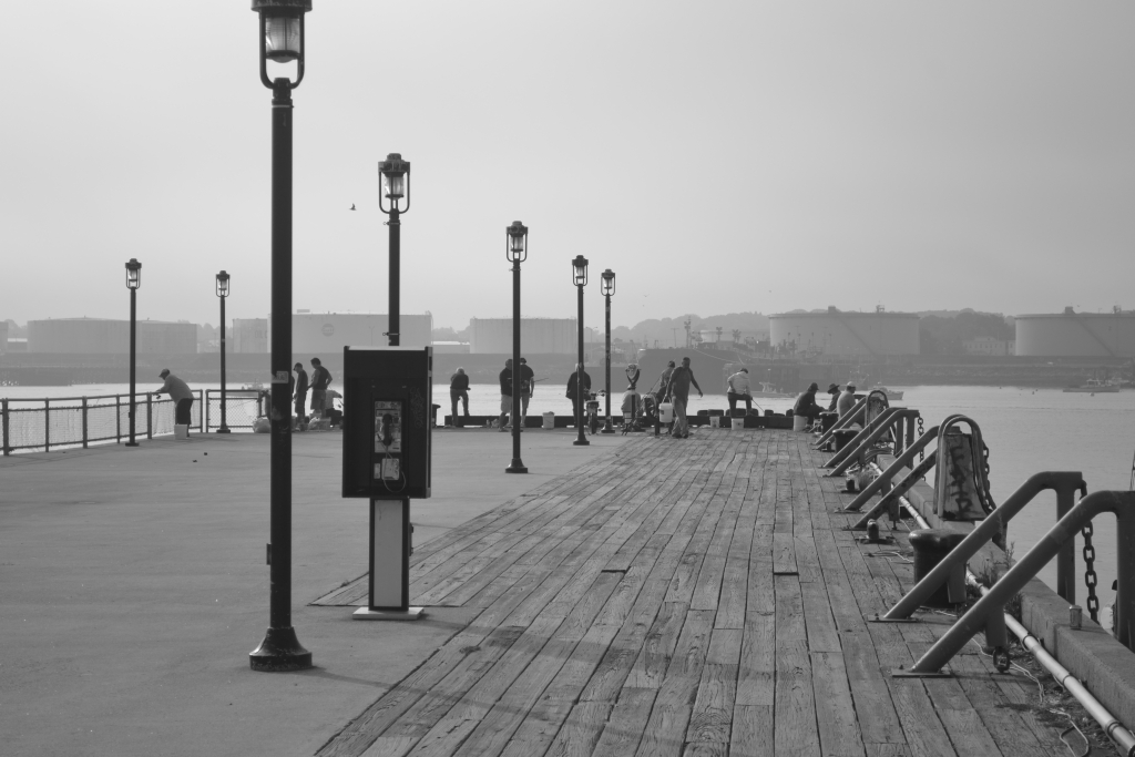 Maine State Pier Fishermen by JohnFrench in Member Albums