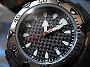 Citizen Eco-Drive Carbon Fiber Dial Watch Closeup by JohnFrench in Member Albums