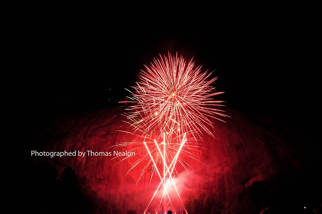 Fireworks and Lasers at Stone Mountain by Hotfingers in Member Albums