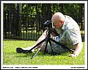 Me shooting at the Confederate Memorial Cemetery by Don Kuykendall