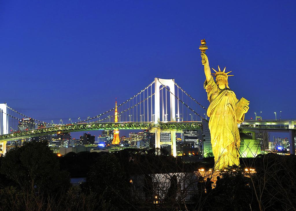 Statue of liberty tokyo japan by gqtuazon in Member Albums