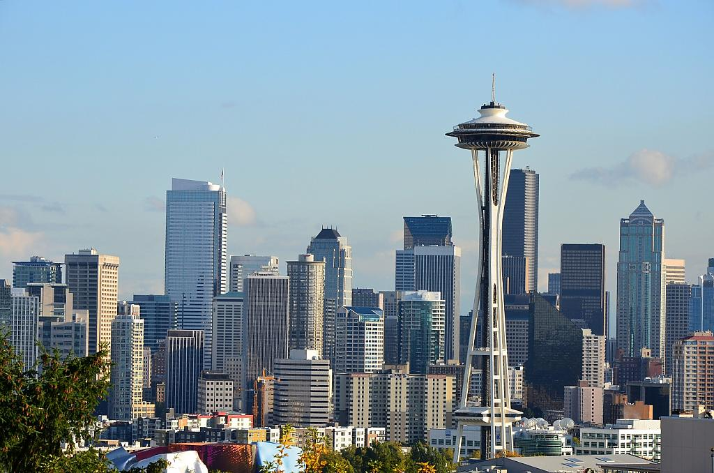 Downtown Seattle by TieuNgao in Member Albums