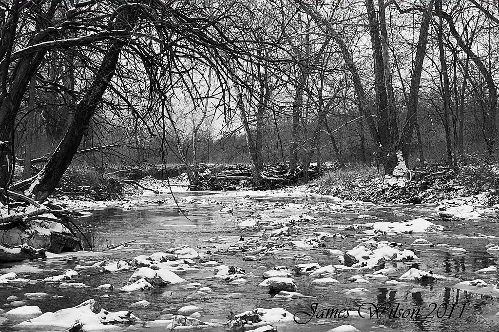 Black & White Creek by nmjameswilson in Member Albums