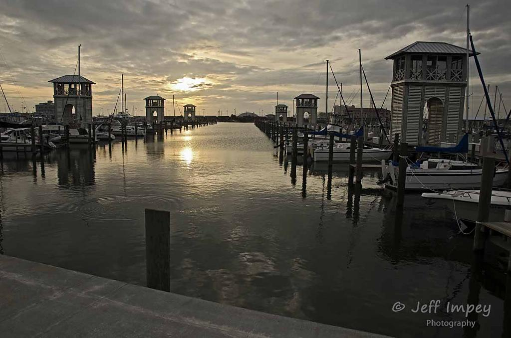 Gulfport marins at sunset by grandpaw in Member Albums