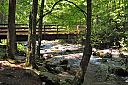 Bridge and creek near Gatliburg, Tn. by grandpaw in Member Albums