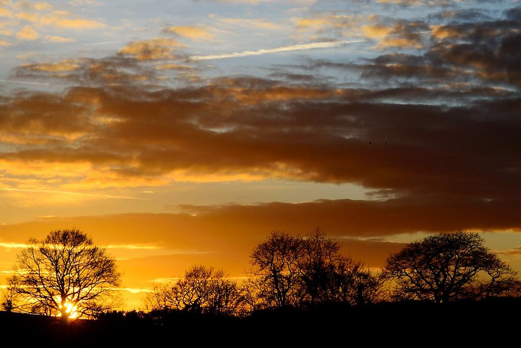 Herefordshire sunset by crisscross in Member Albums