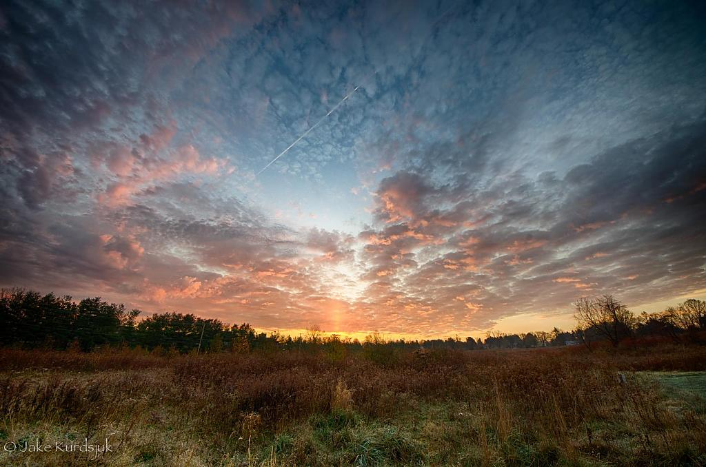 HDR Sunrise - 2012-11-03 by BackdoorArts in Member Albums