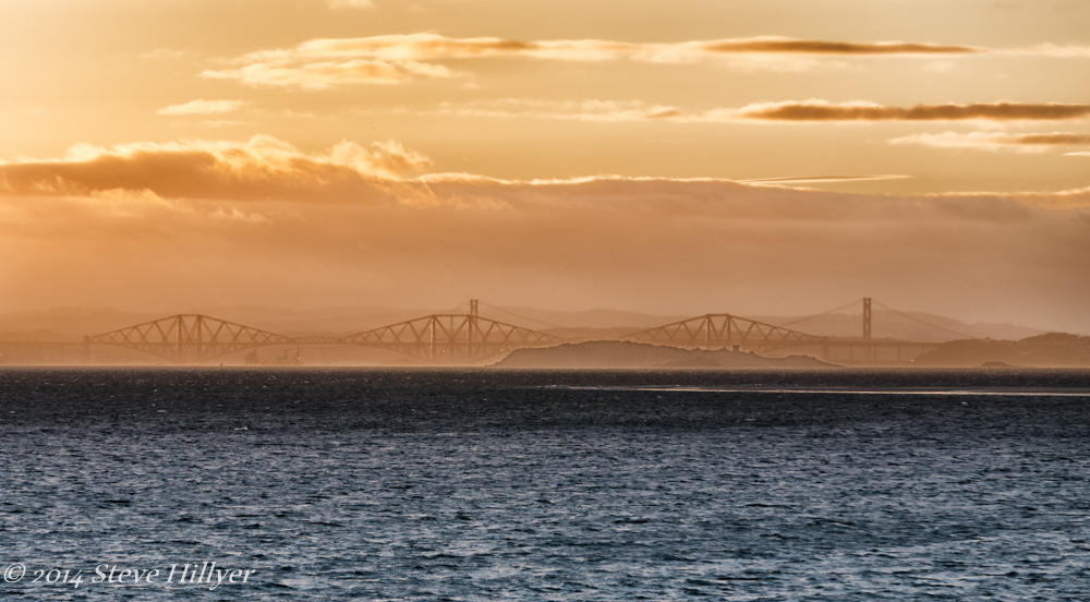 Forth Sunset by SteveH in Steve's Shots