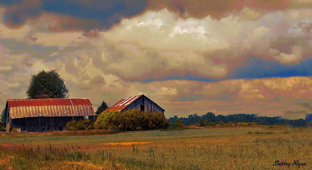 Barns and deserted farms by Shirleyann in Member Albums