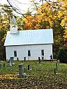 Old church and Cemetary Cades Cove by Debrus