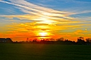 Gnosall Sunset by SPJ in Member Albums