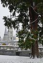 Lourdes in the snow by stobert in Member Albums