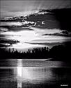 the independence bay sunset in black white ii by TedG954 in Member Albums