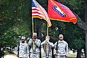 Arkansas 39th Infantry Brigade Color Guard by skooter1