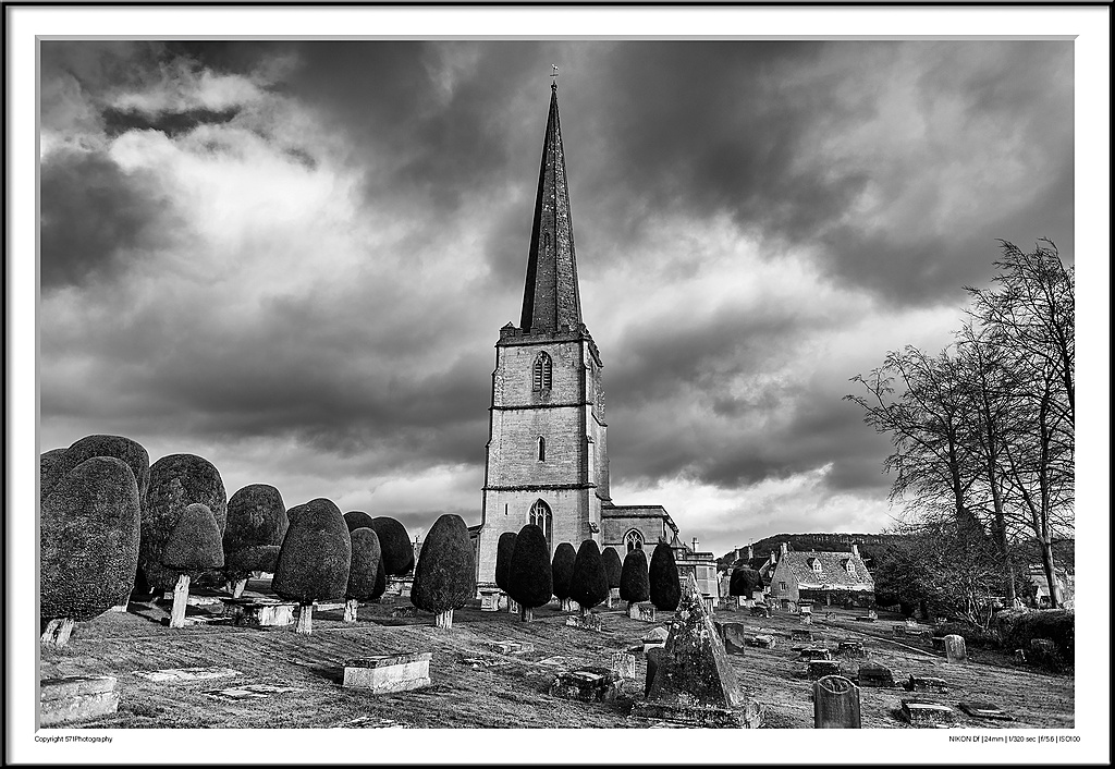 Painswick The Old Village